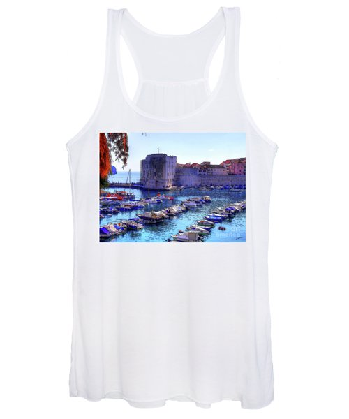 Dubrovnik Harbour Women's Tank Top
