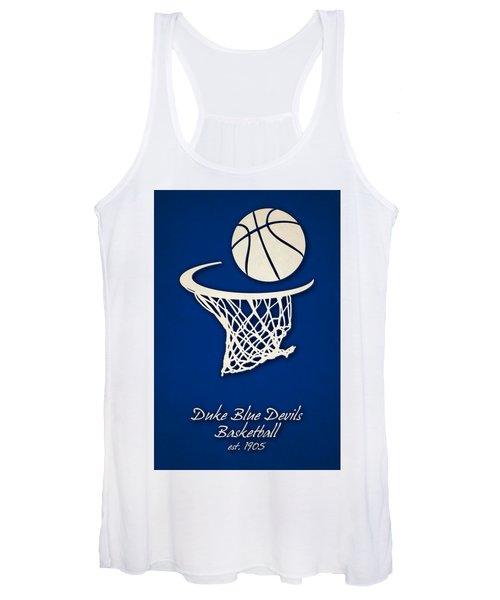 Duke Blue Devils Basketball Women's Tank Top