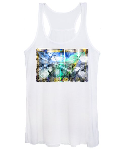 Dynamic Cubes Women's Tank Top