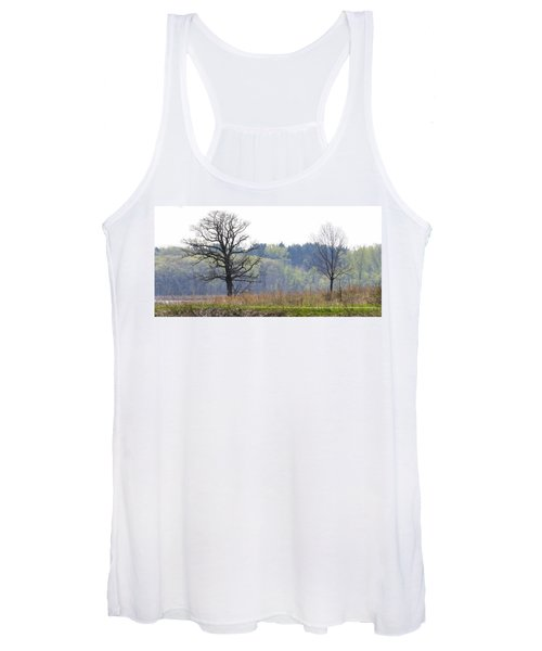 Early Spring Silhouettes  Women's Tank Top
