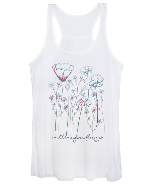 Earth Laughs In Flowers Women's Tank Top