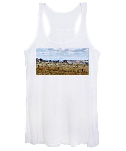 Eastern Wyoming Sky Women's Tank Top