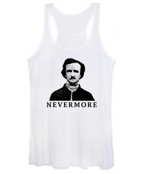 Edgar Allan Poe - Nevermore Women's Tank Top