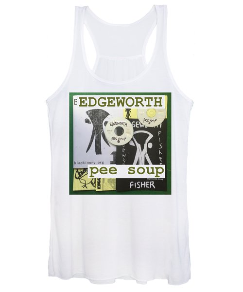 Edgeworth Pee Soup Album Cover Design Women's Tank Top