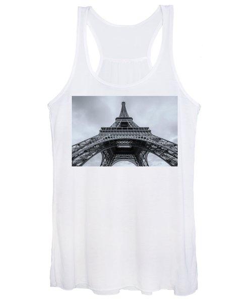 Eiffel Tower 3 Women's Tank Top