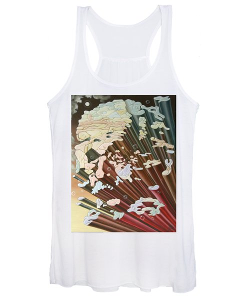 Einstein And The Theory Of The Big Bang Women's Tank Top