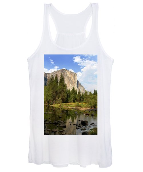 El Capitan Yosemite National Park California Women's Tank Top