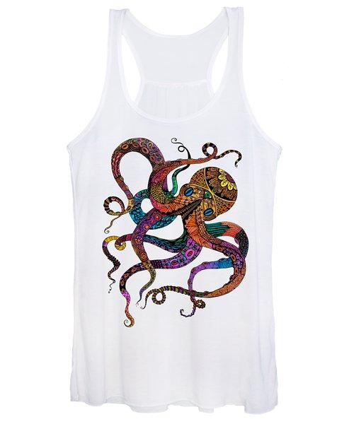 Electric Octopus Women's Tank Top