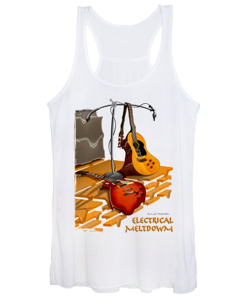 Electrical Meltdown Se Women's Tank Top