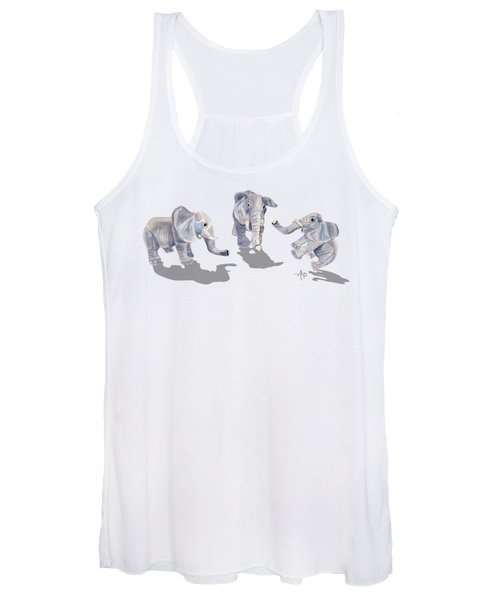 Elephants Women's Tank Top