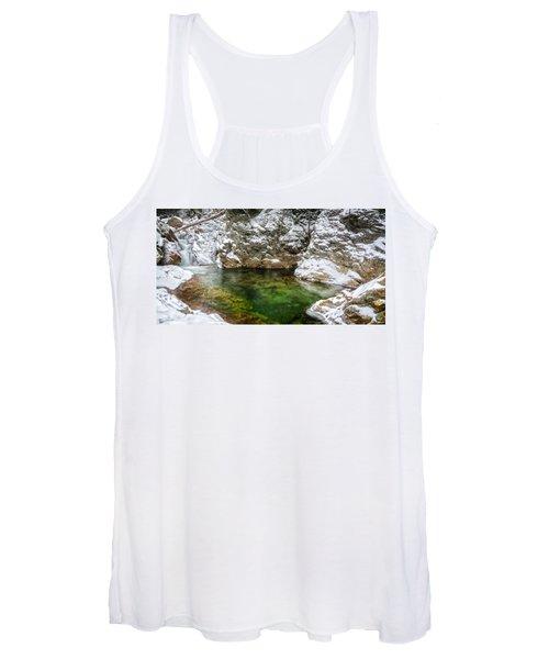Emerald Pool Ellis River Nh Women's Tank Top