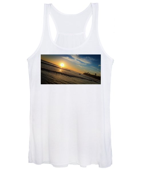 End Of Summer Sunset Surf Women's Tank Top
