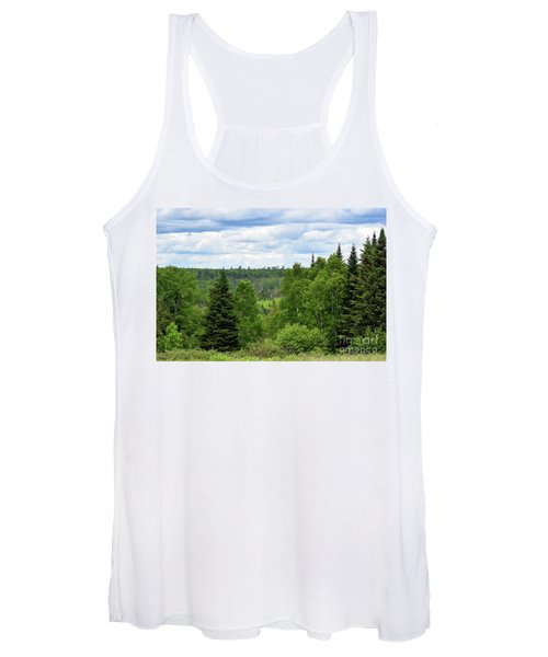 Endless Maine Forest Women's Tank Top
