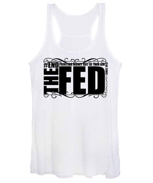 #endthefed Women's Tank Top