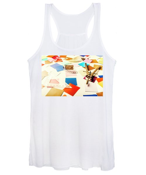 Engineering Colour Rules Women's Tank Top