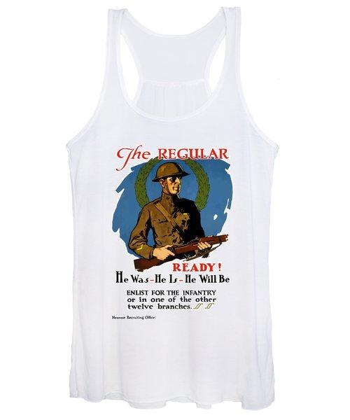 The Regular - Enlist For The Infantry Women's Tank Top