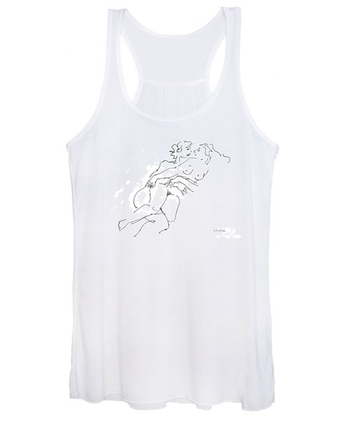 Erotic Art Drawings 13 Women's Tank Top