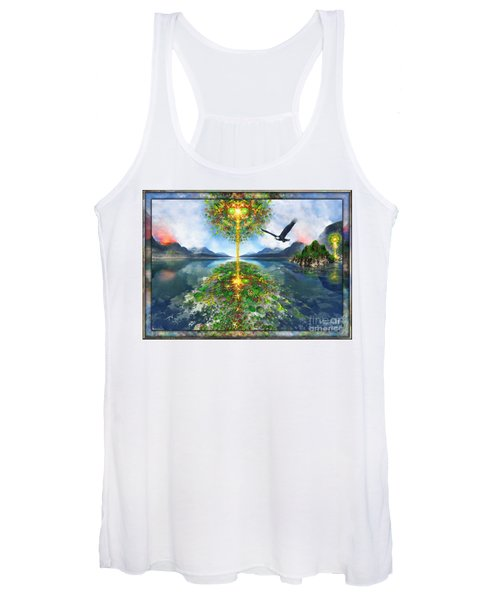Etheric Lake Women's Tank Top