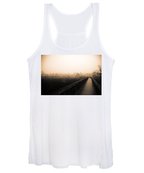 Everglades Boardwalk Women's Tank Top