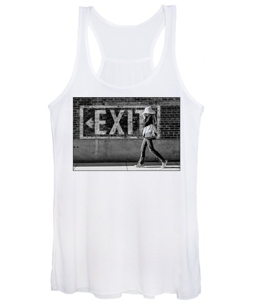 Exit Bw Women's Tank Top