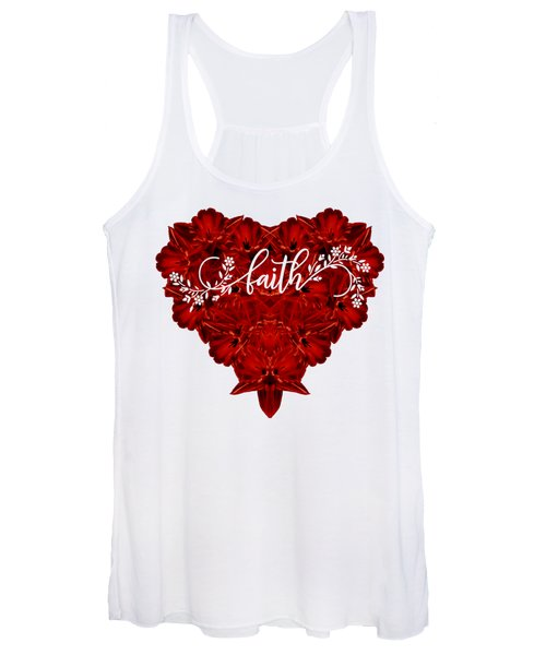 Faith Tee Women's Tank Top