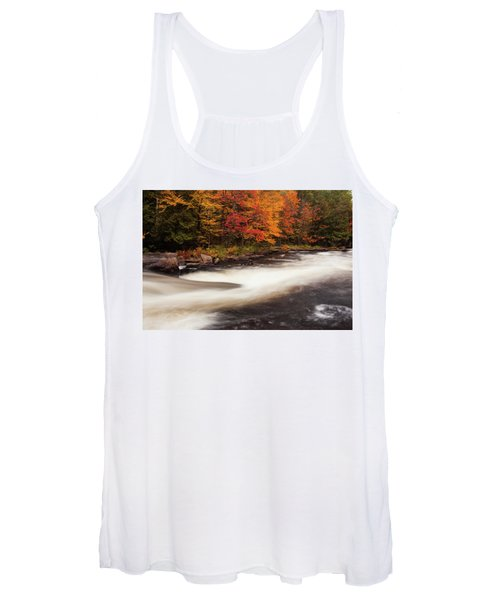 Fall At Oxtongue Rapids Women's Tank Top