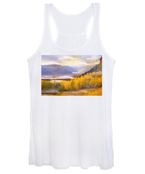 Fall In The Rockies Women's Tank Top