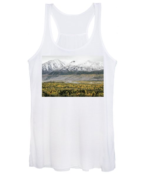 Fall In Wrangell - St. Elias Women's Tank Top