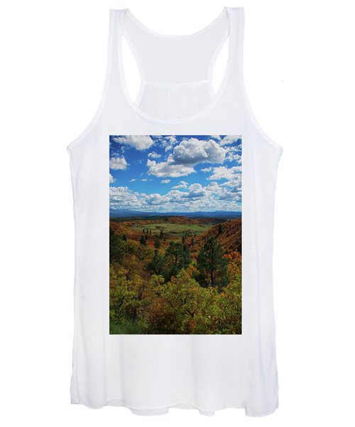 Fall On Four Mile Road Women's Tank Top