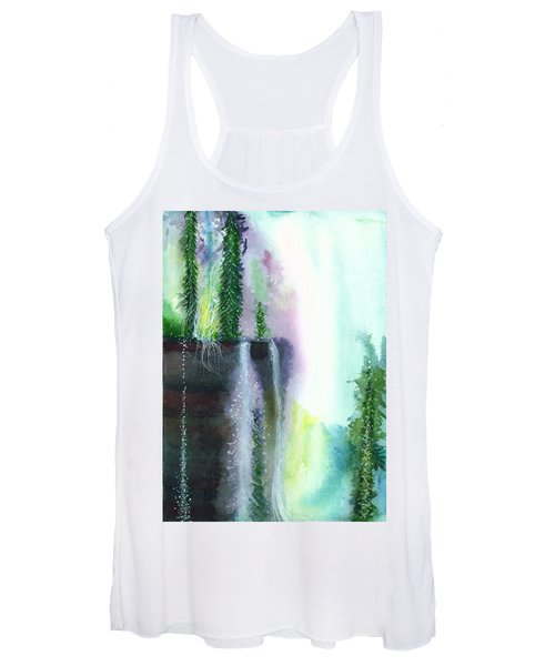 Falling Waters 1 Women's Tank Top