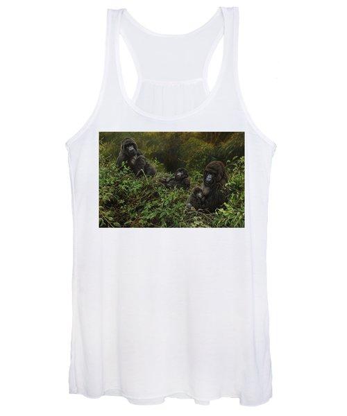 Family Of Gorillas Women's Tank Top