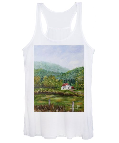 Farm In The Valley Women's Tank Top