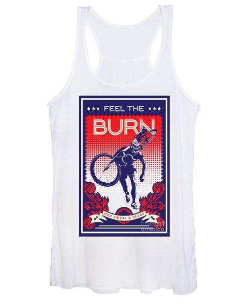 Feel The Burn Women's Tank Top