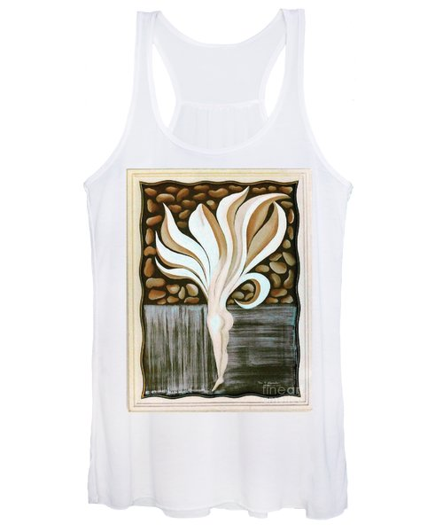 Female Petal Women's Tank Top