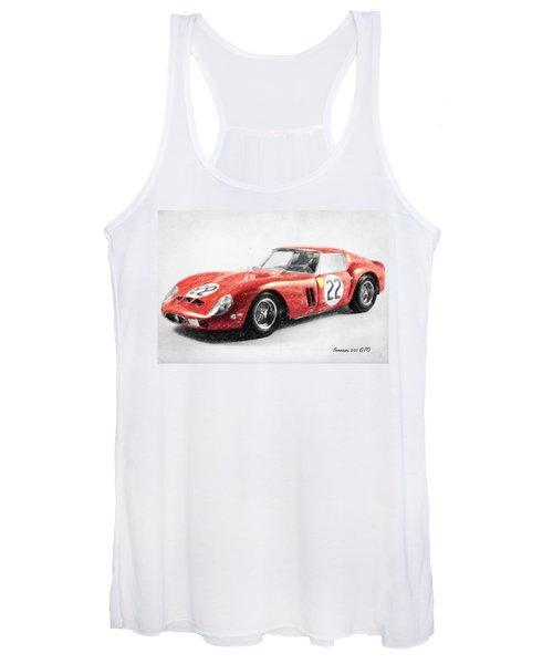 Ferrari 250 Gto Women's Tank Top