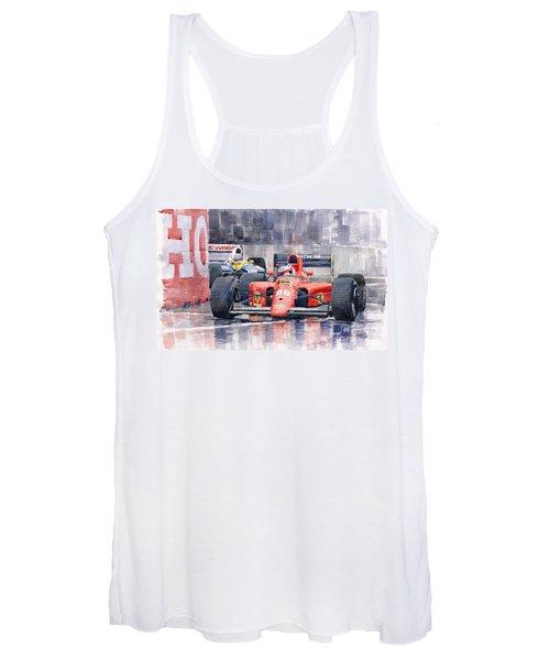 1991 Ferrari F1 Jean Alesi Phoenix Us Gp Arizona 1991 Women's Tank Top