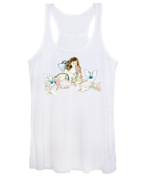 Field Fairy - Wildflower Fairy Romantic Fantasy Women's Tank Top
