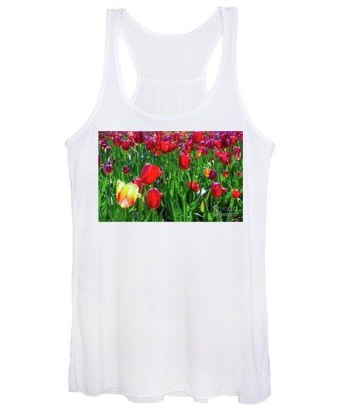 Tulip Garden Women's Tank Top