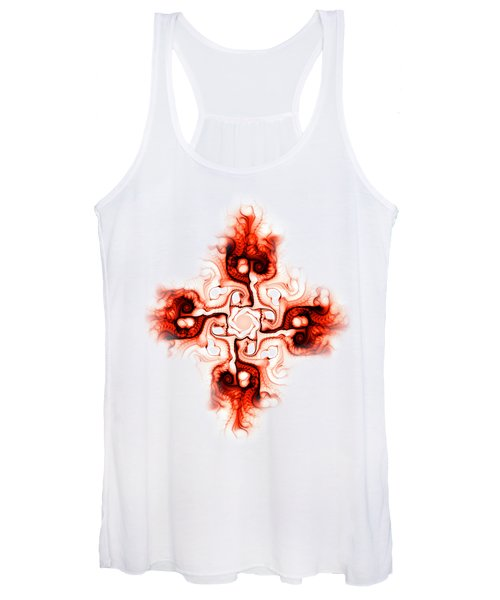Fiery Cross Women's Tank Top