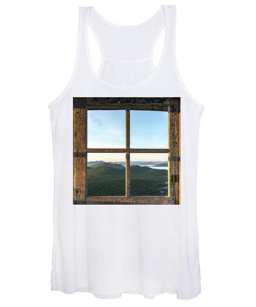 Fire Tower Frame Women's Tank Top