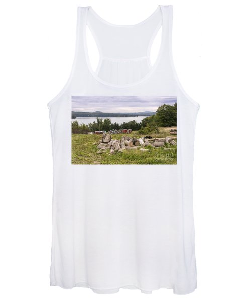 Firewood And Ice Houses Women's Tank Top
