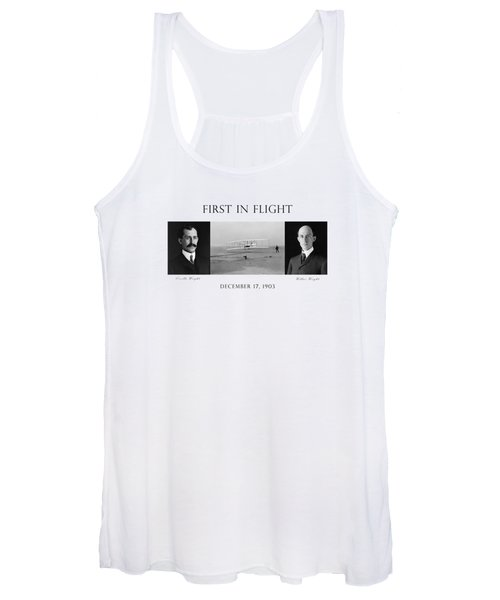 First In Flight - The Wright Brothers Women's Tank Top