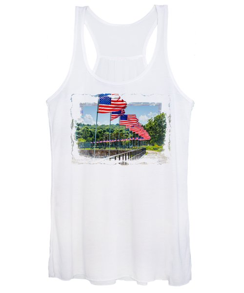 Flag Walk Women's Tank Top