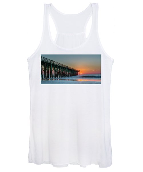 Flagler Pier Sunrise Women's Tank Top
