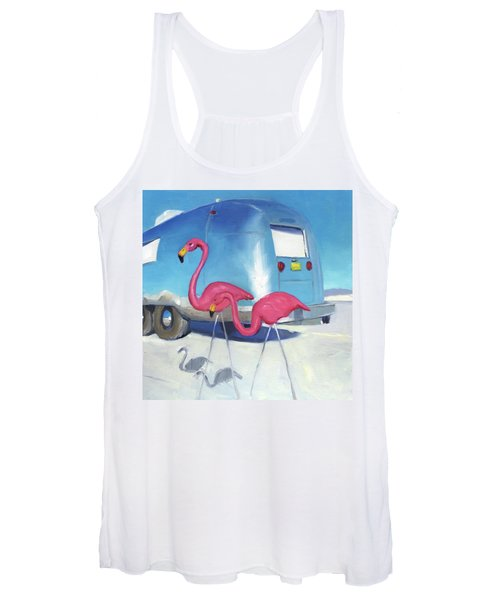 Flamingo Migration Women's Tank Top