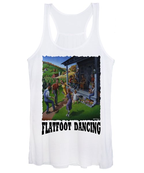 Flatfoot Dancing - Mountain Dancing - Flatfoot Dancing Women's Tank Top