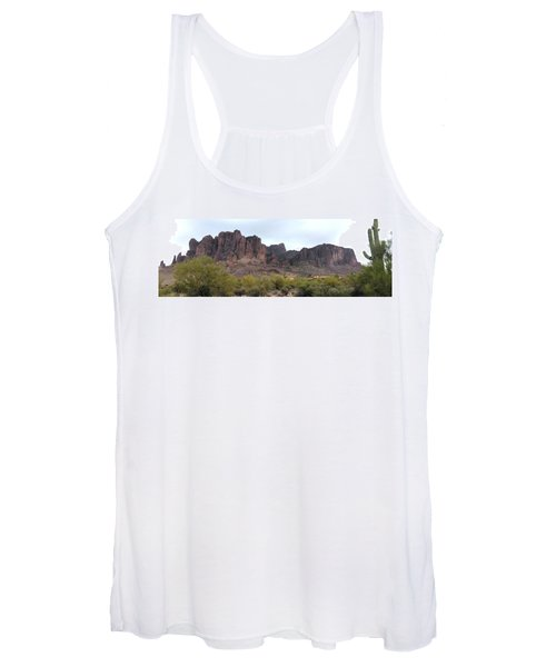 Flatiron Of The Superstition Mountains Women's Tank Top