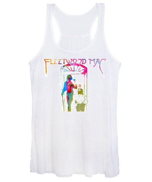 Fleetwood Mac Album Cover Watercolor Women's Tank Top
