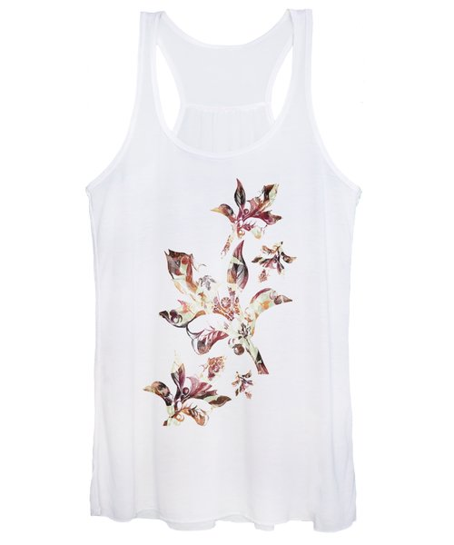 Floral Decor Women's Tank Top