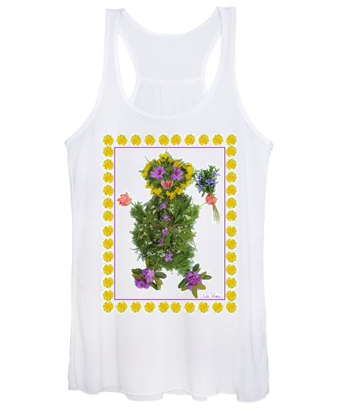 Flower Baby Women's Tank Top